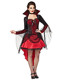 Vampire Dark Mistress Adult Womens Costume