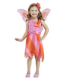 Toddler Firefly Fairy Costume