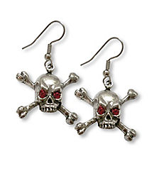 Skull Crossbones Earrings