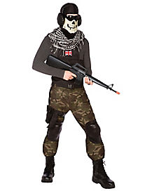 Skull Commando Teen Costume