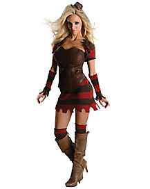Freddy Dress Adult Womens Costume
