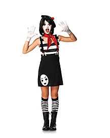Mime Girls Costume