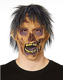Decaying Face Zombie Mask