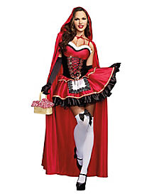 Little Red Adult Womens Costume