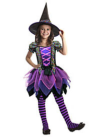 Kids Sequin Witch Costume