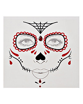 Sugar Skull Face Decal