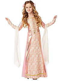 Kids Girls Renaissance Princess Costume