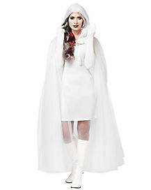 Ghost Cape Adult Womens Costume