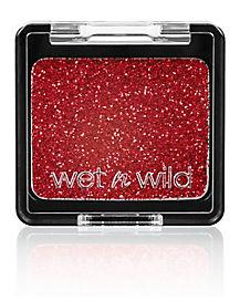 Wet n Wild Red Glitter Eyeshadow Makeup