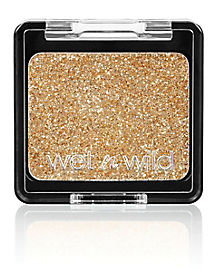 Glitter Gold Eyeshadow Makeup