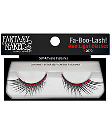 Wet n Wild Red Glitter False Lashes