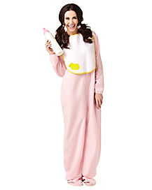 Pink Jammies Adult Womens Costume