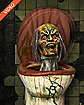 22 Inch Pop-Up Zombie Toilet Animatronics - Decorations