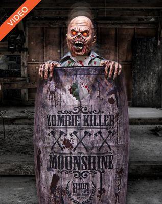 5' Moonshine Barrel Zombie