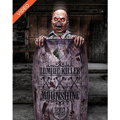 5' Moonshine Barrel Zombie
