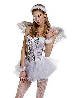 Marabou Angel Costume Kit