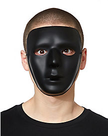 Blank Black Face Mask