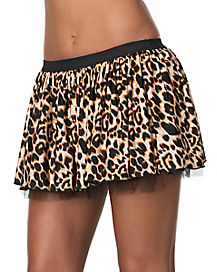 Leopard Adult Skirt
