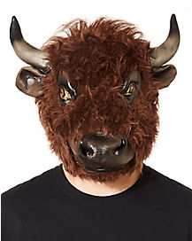 Furry Buffalo Mask