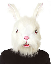 Furry Rabbit Mask