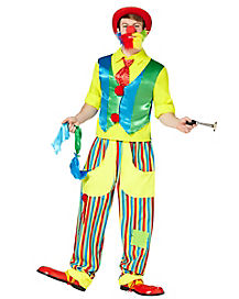Hobo Clown Adult Mens Costume