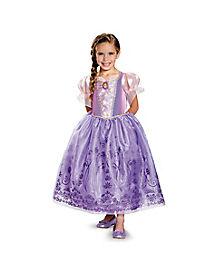 Kids Rapunzel Costume Deluxe - Tangled