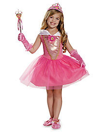 Kids Aurora Ballerina Costume - Sleeping Beauty