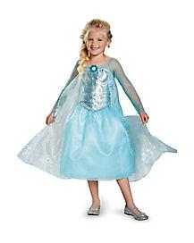 Kids Elsa Costume Deluxe - Frozen