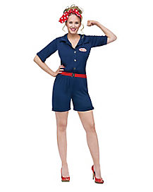 Classic Rosie the Riveter Adult Womens Costume