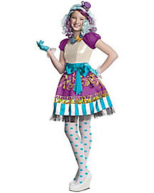 Kids Madeline Hatter Costume - Ever After High