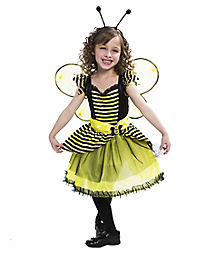 Kids Honey Bumble Bee Costume