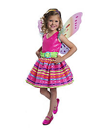 Rainbow Fairy Child Costume