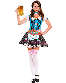 Miss Oktoberfest Adult Womens Costume