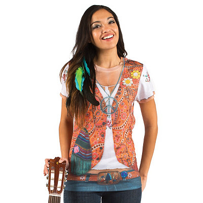 Hippie Costume T-Shirt
