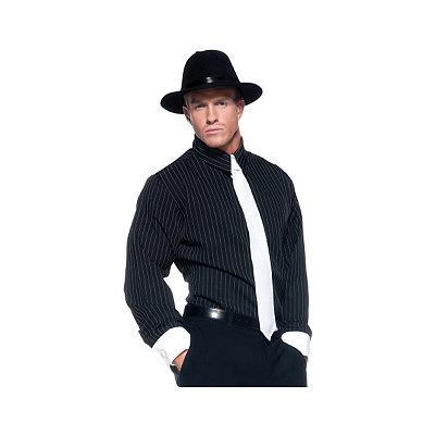 Pinstripe Gangster Shirt $24.99 AT vintagedancer.com