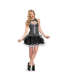 Jack Skellington Dress Adult Womens Costume