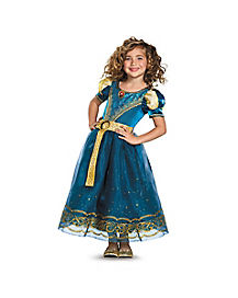 Kids Merida Costume Deluxe - Brave