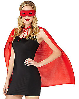 Red Superhero Costume Kit