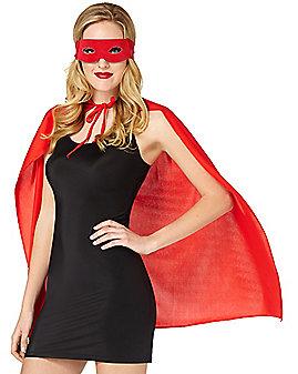 Red Superhero Costume Kit