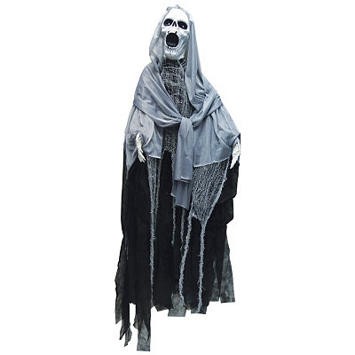 5' Spinning Ghostly Reaper Decoration