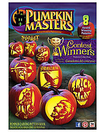 Award Winning Pumpkin Carving Stencils Book - Pumpkin Masters