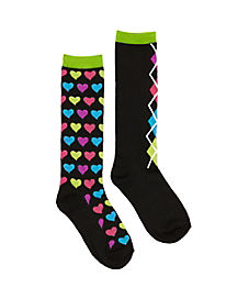 Girls School Nerd Socks