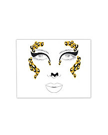 Leopard Face Decal