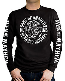 Moto Club Long Sleeve T-Shirt - Sons of Anarchy