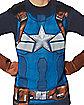 Adult Captain America T Shirt - Marvel