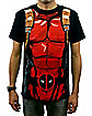 Black Deadpool T-Shirt- Marvel Comics