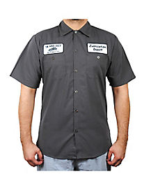 In and Out Plus Size Work Shirt