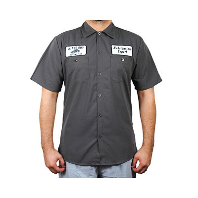In and Out Plus Size Workshirt