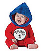 Baby Thing 1 Costume - Dr Seuss