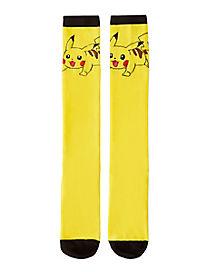 Pikachu Knee High Sock